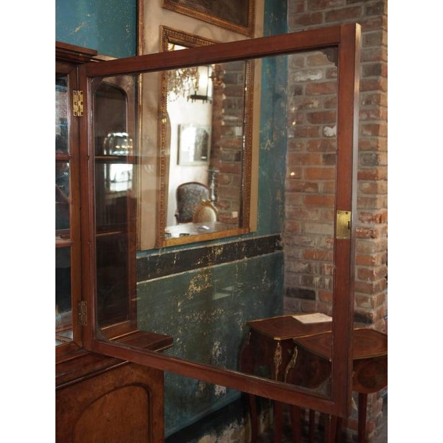 "English Burl Walnut ""Cocktails"" Bar Cabinet-1920's For Sale - Image 4 of 9"