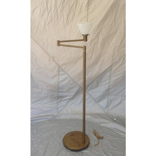 Nessen Studios Adjustable Swing Arm Floor Lamp - Image 4 of 7