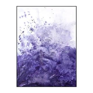 Water & Salt Purple - Framed Giclee Print 3040 For Sale