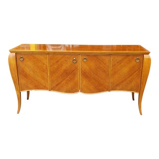 Hickory White Furniture Cherry French Philippe Style Dining Room Sideboard Model 44024-44 For Sale