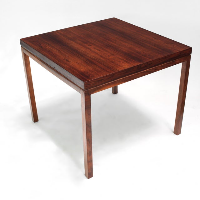 Danish Modern Milo Baughman Thayer Coggin Rosewood Table For Sale - Image 3 of 9