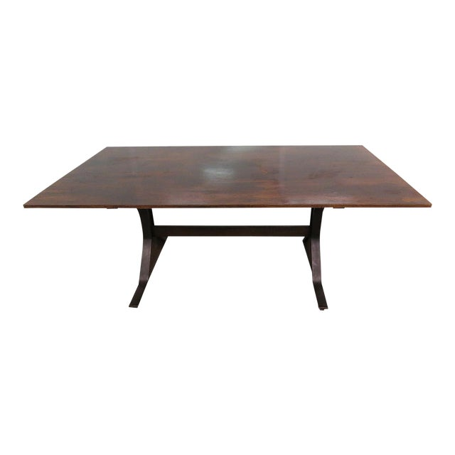 Frattini Italian Rosewood Dining Table - Image 1 of 9