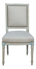 Image of Linen Side Chairs
