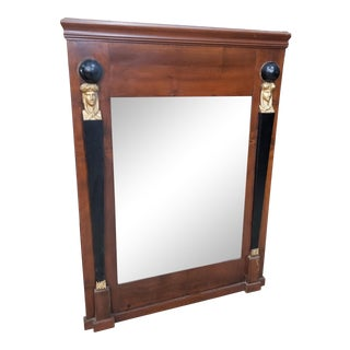 Neoclassical Antique Mirror For Sale
