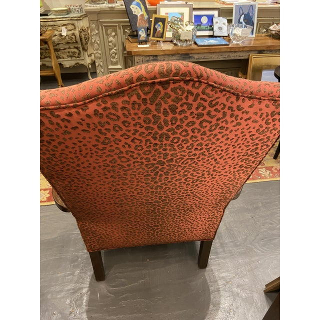 English 19th Century English Mahogany Lolling Chair For Sale - Image 3 of 9