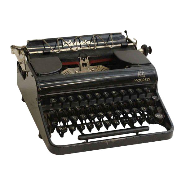 Antique French Portable Typewriter - Image 1 of 10