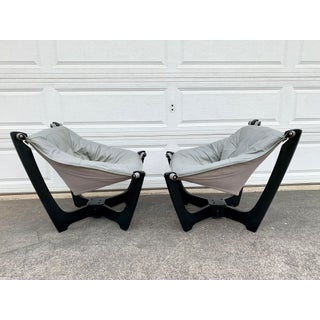 Mid Century Odd Knutsen Luna Chairs- A Pair Preview