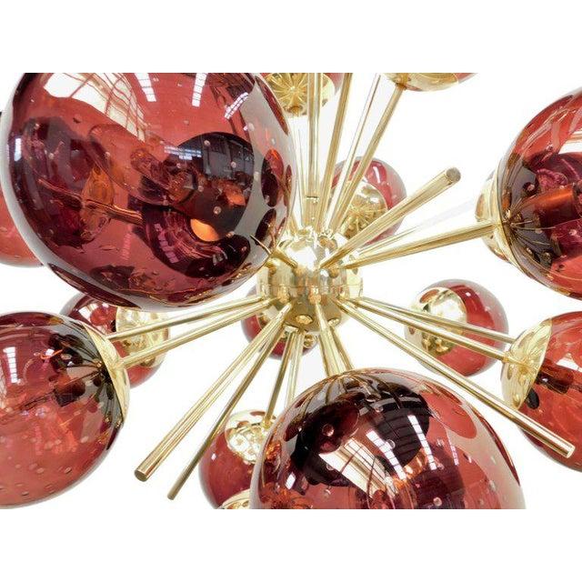 Diciotto Sputnik Chandelier by Fabio Ltd For Sale In Palm Springs - Image 6 of 9