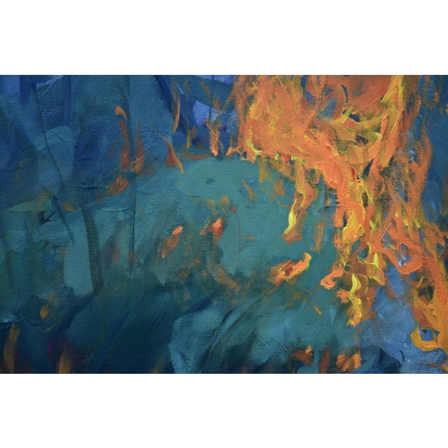 "Paint ""Burning Old Paintings"" Contemporary Painting by Stephen Remick For Sale - Image 7 of 13"