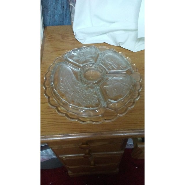 Mikasa Mikasa Crystal Serving Platter For Sale - Image 4 of 4