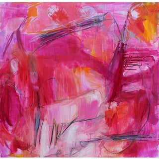 """Heat Wave"" by Trixie Pitts Large Abstract Oil Painting For Sale"