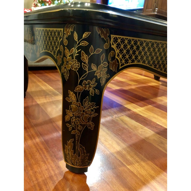 1980s 1980s Chinoiserie Drexel Heritage Coffee Table For Sale - Image 5 of 11