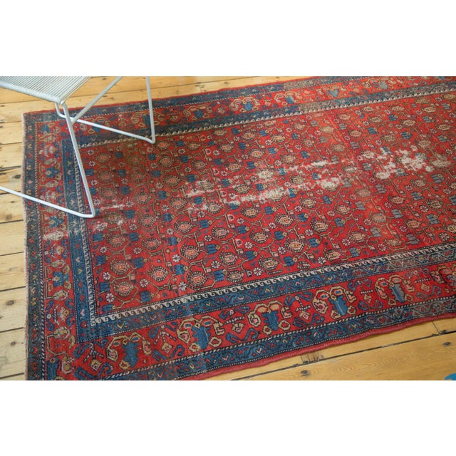 """Traditional Vintage Malayer Rug - 4'3"""" x 6'7"""" For Sale - Image 3 of 10"""
