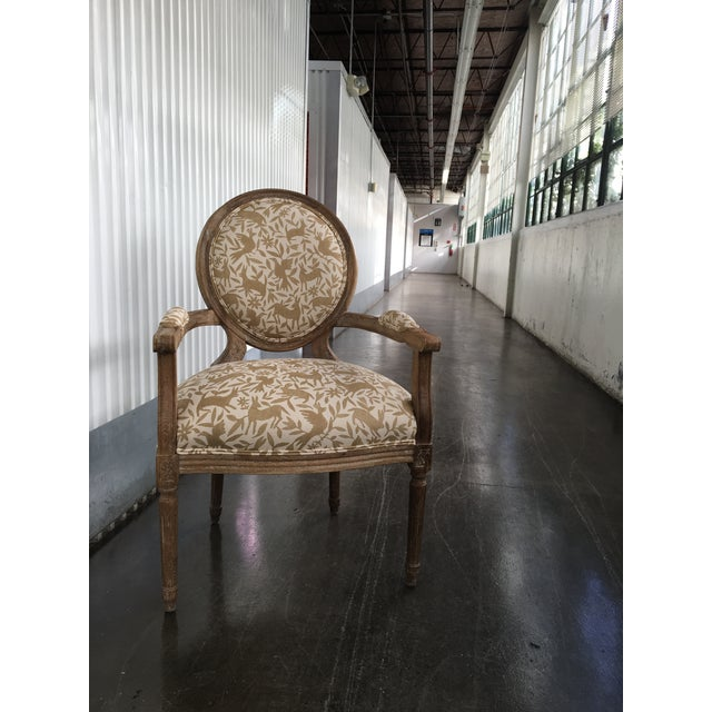 A cute pair of classic chairs, updated with a printed Otomi fabric from designer Kerry Joyce. The chairs are made of...