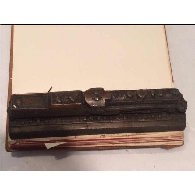 Vintage Reading Railway Advertising Desk Pad For Sale In Philadelphia - Image 6 of 9