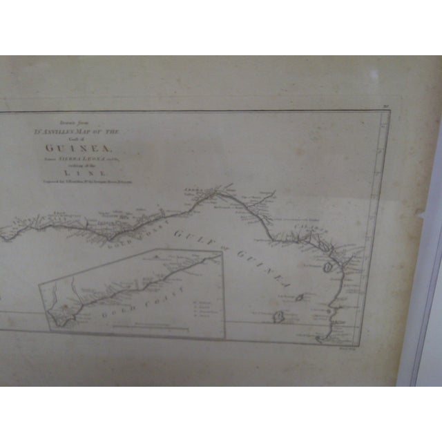 """""""Gold Coast"""", Vintage Gulf of Guinea Map For Sale - Image 5 of 8"""