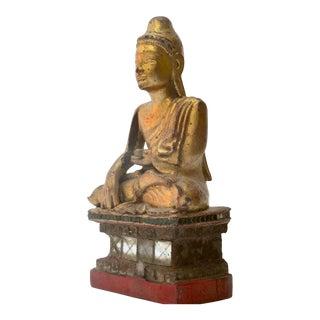 Antique Shan Style Burmese Buddha For Sale