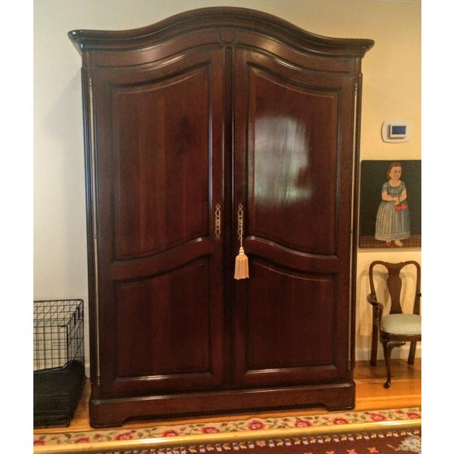 Grange France Bonnet Top Armoire For Sale In New York - Image 6 of 11