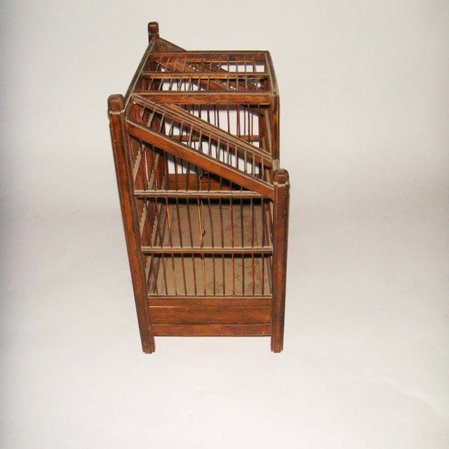 19th Century Belgian Bird Cage - Image 4 of 5