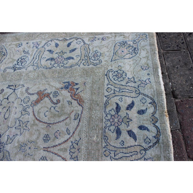 Textile Vintage Sivas Wool Rug - 6′ × 9′ For Sale - Image 7 of 9