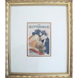 1950 Vintage Toulouse Lautrec Lithographic Plate For Sale