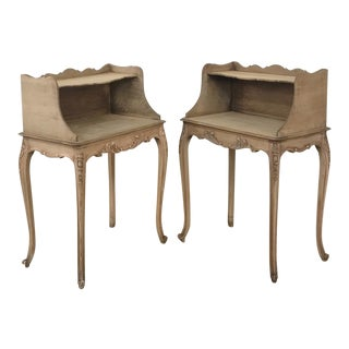 20th Century French Provincial Nightstands - a Pair For Sale