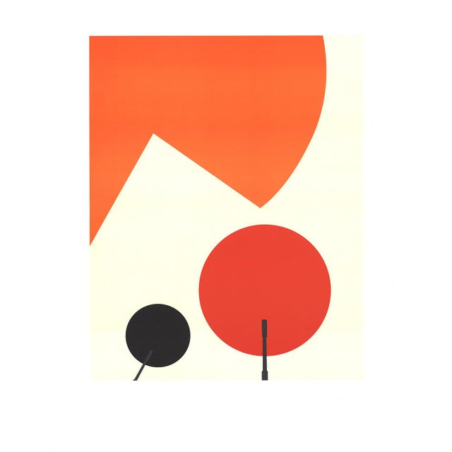 1960s 1960s Abstract Print on Paper by Takis For Sale - Image 5 of 5