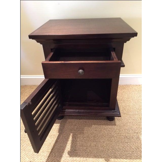 Noir Shutter Side Table For Sale - Image 4 of 6