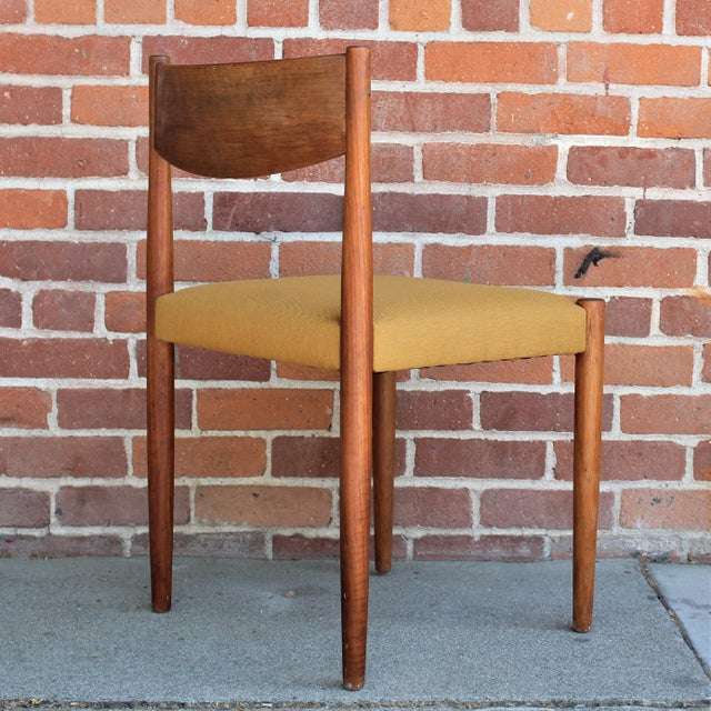 1960s Vintage Danish Modern Teak Dining Chairs- Set of 4 For Sale - Image 9 of 13