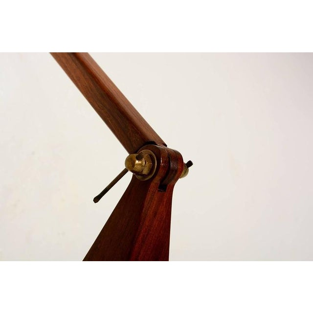 1960s Cocobolo & Walnut Wall Sconce For Sale - Image 5 of 10