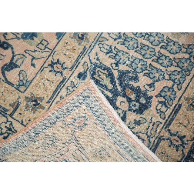 """Vintage Kashan Carpet - 10'1"""" X 14'2"""" For Sale - Image 10 of 11"""