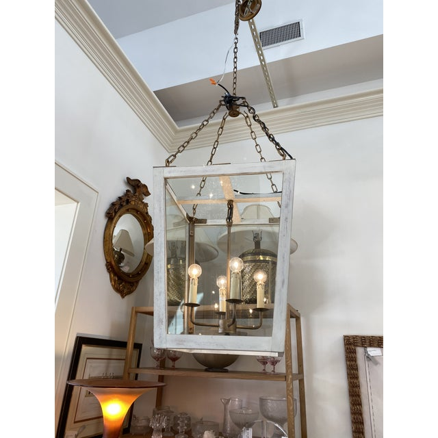 2000 - 2009 Julian Chichester Triangle Lantern For Sale - Image 5 of 6