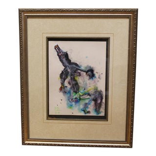 Martin Sumers 1922-2012 Original Watercolor Painting For Sale