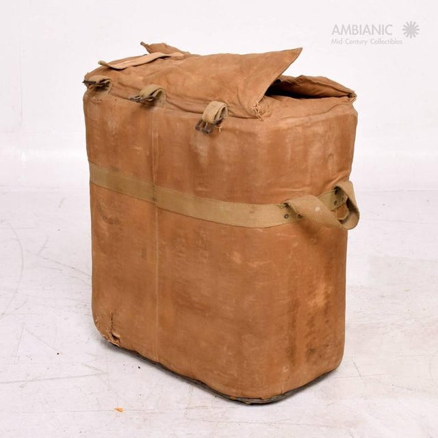 Rustic Industrial Military Ice Chest For Sale - Image 3 of 10