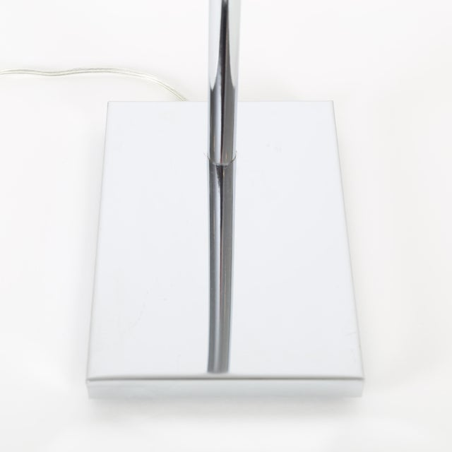 1970's VINTAGE KOCH & LOWY ADJUSTABLE CHROME FLOOR LAMP For Sale In New York - Image 6 of 8