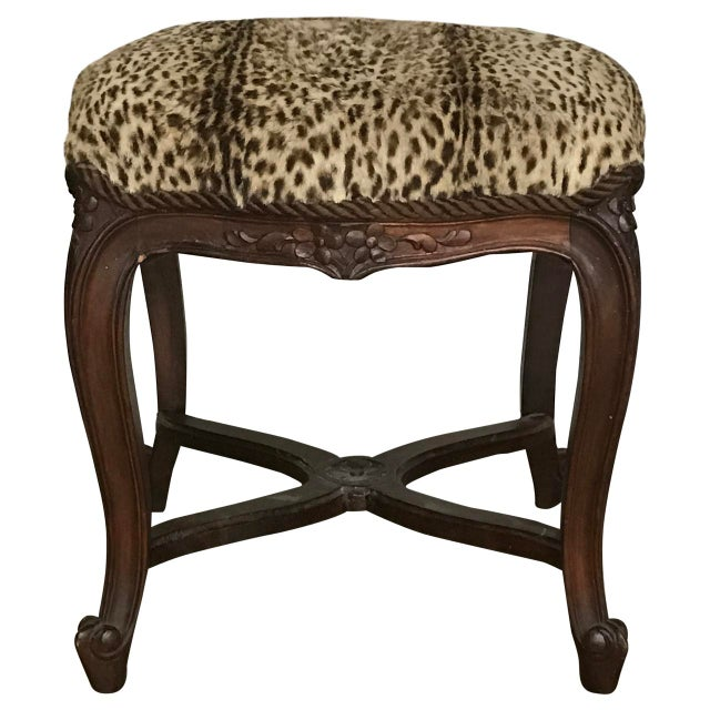 Early 19th Century Early 19th Century Antique Louis XIV Style Bench For Sale - Image 5 of 5