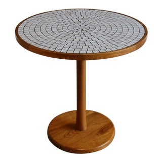 Mid-Century Modern Gordon & Jane Martz for Marshall Studios Ceramic and Walnut Dinette Table