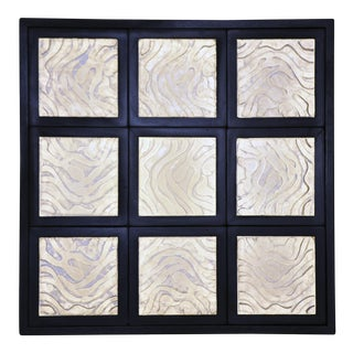 Cast Glass Light Box by the Golden Triangle Chicago For Sale