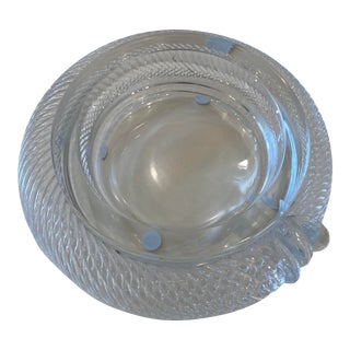 Mid 20th Century French Crystal Wine Coaster For Sale
