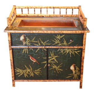 Antique Bamboo Bird Bar