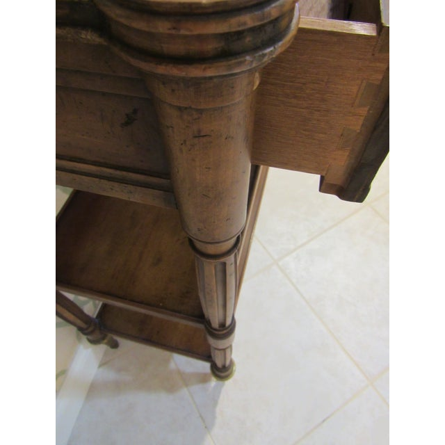 Traditional Console Table by Baker Furniture For Sale - Image 3 of 11