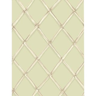 Cole & Son Bagatelle Wallpaper Roll - Olive For Sale