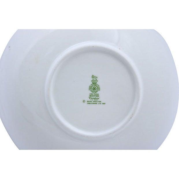 Cottage Vintage Royal Doulton Floradora Berry Bowls - Set of 6 For Sale - Image 3 of 4