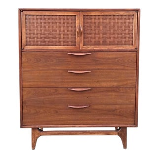 Warren Church for Lane Mid-Century Highboy Dresser For Sale