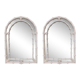 Serge Roche Gampel Stoll Style Wall Mirror, a Pair For Sale
