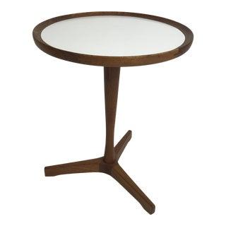 Danish Teak Side Table by Hans C Andersen For Sale