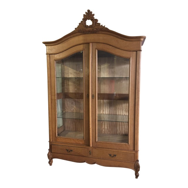 Vintage French Louis XV Style Cabinet - Image 1 of 8