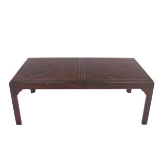Large Dining Table with Two Extension Boards For Sale