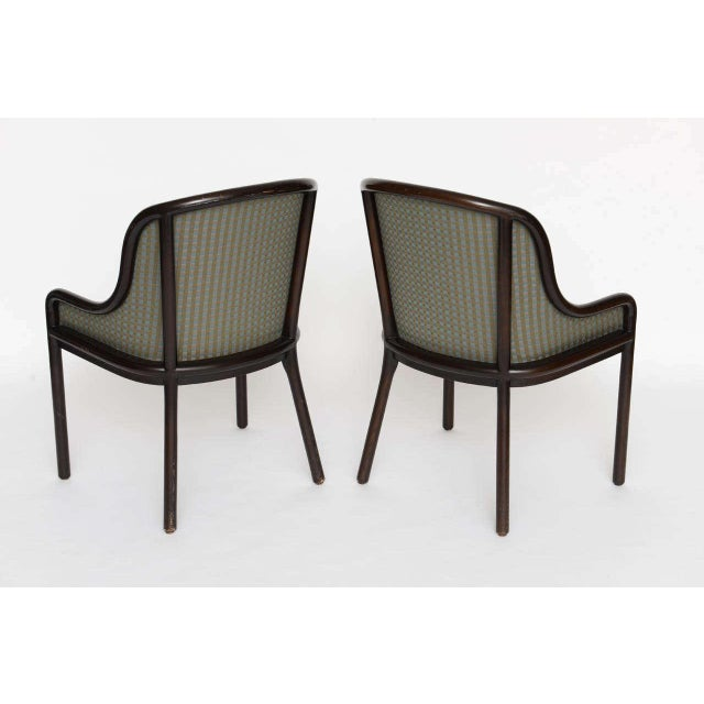 Pair of Ward Bennett Chairs for Brickell 1970s For Sale In Miami - Image 6 of 10
