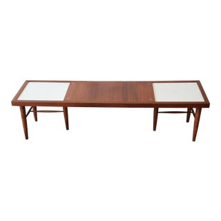 Merton Gershun for American of Martinsville Mid-Century Modern Walnut Coffee Table For Sale